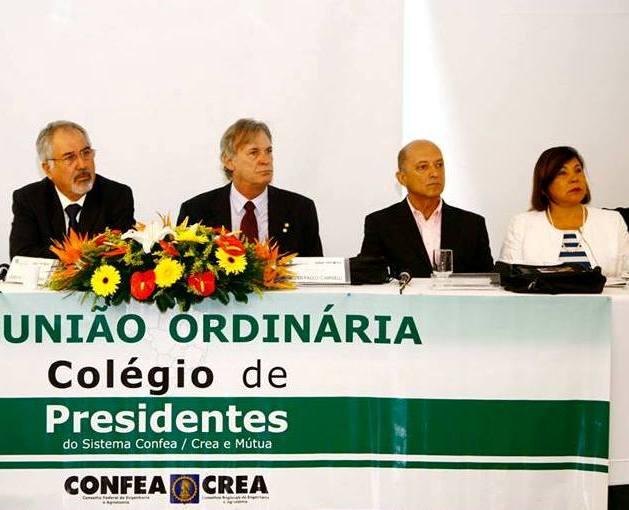 Presidentes do Sistema Confea/ Crea e Mútua debatem sobre TCU no CP em Vitória