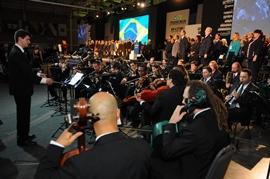 Cultura regional e emoção nacional marcam abertura da 70ª Soea