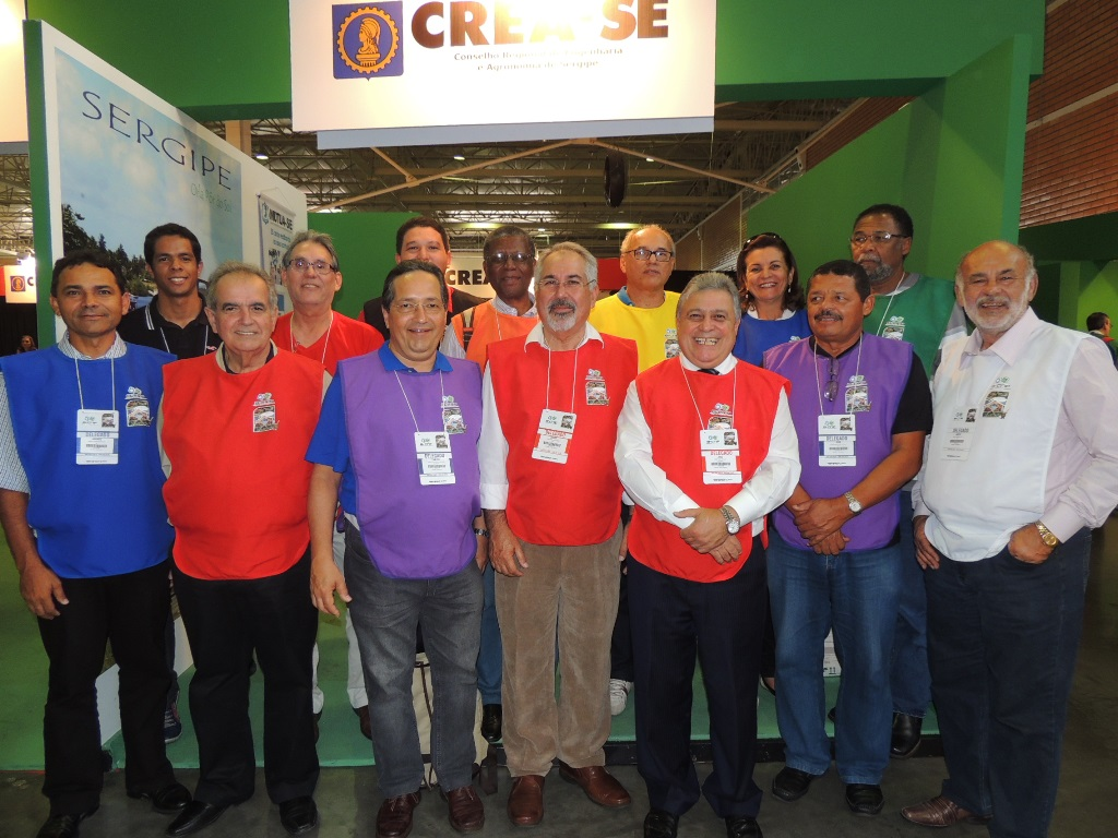 Delegados do Crea-SE – 8º CNP