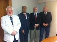 Gustavo Braz participa de reunião com a Ceap e o Conselho de Educação