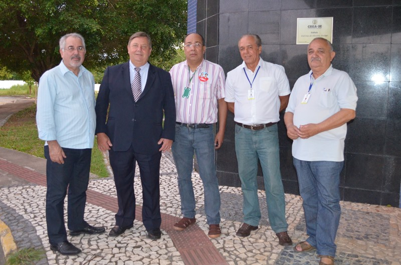Visita do presidente do Confea Júlio Fialkosk