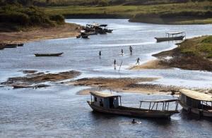 Estiagem afeta o Rio São Francisco Foto:Miqueia Nunes