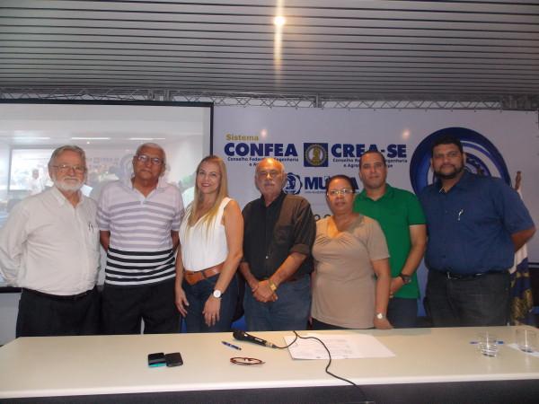 Posse da diretoria executiva e dos novos conselheiros do Crea-SE