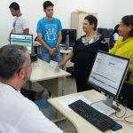 Funcionários da antiga inspetoria visitam instalações  do Crea-SE