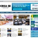 Novo site do Crea-SE já está no ar