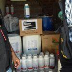 Mais de 13 mil litros de agrotóxicos vendidos irregularmente em Nª Sra. de Lourdes são apreendidos