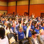 Crea-SE participa ativamente da segunda etapa do 9º Congresso Nacional de Profissionais