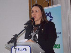 Presidente da Codevasf, Kênia Marcelino