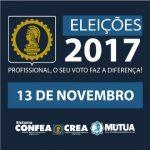 Aberto o prazo de registro de candidaturas para as Eleições 2017 do Sistema Confea/Crea e Mútua em todo o território nacional.