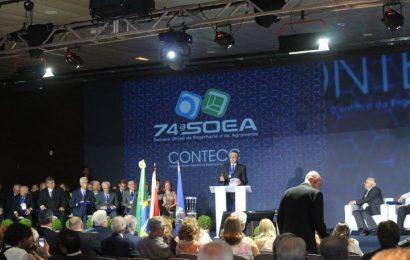 Crea-SE participa da 74ª SOEA com uma delegação de 52 integrantes