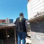 Crea-SE faz vistoria para elaborar laudo técnico sobre desabamento de caixas d'agua em hotel da orla