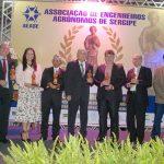 Personalidades são homenageadas pela AEASE com a 'Comenda Ceres do Mérito Agronômico'