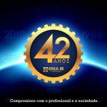 Crea-SE : 42 anos de credibilidade em defesa da valorização profissional e da sociedade