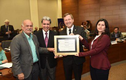 Crea-SE recebe homenagem em Goiânia durante  reunião do Colégio de Presidentes