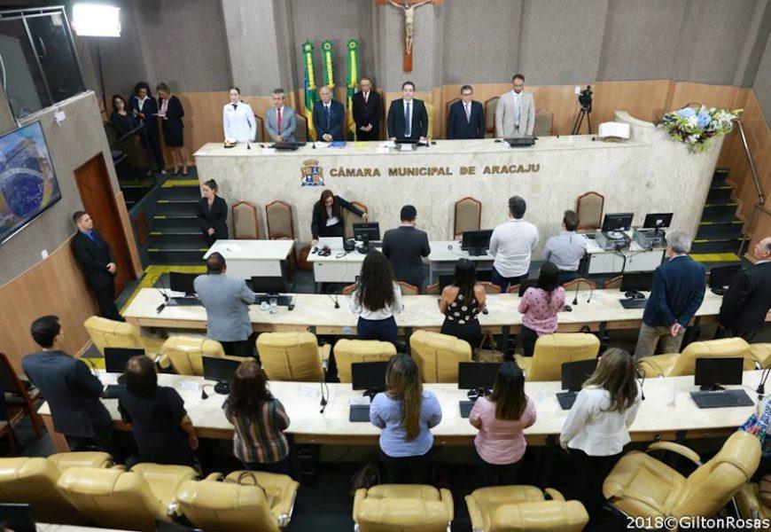 Câmara de Vereadores de Aracaju faz Sessão Especial em homenagem ao Crea-SE