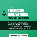 Confea e Creas cumprem a Lei nº 13.639/2018, que trata da saída dos técnicos do Sistema