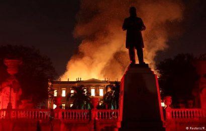 Museu Nacional foi devastado pela falta de manutenção