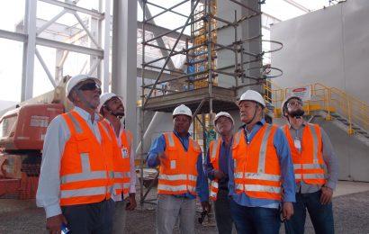 Com  mais de 60% de obras executadas, Crea-SE verifica evolução da Usina Termoelétrica de Sergipe
