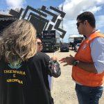 Crea-SE realiza vistoria das estruturas montadas para o Fest Verão Sergipe 2019