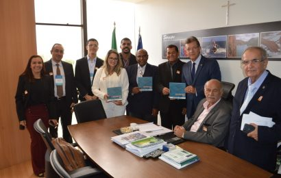 Delegação do Crea-SE busca apoio dos parlamentares sergipanos para projetos de interesse da Engenharia que tramitam no Congresso Nacional
