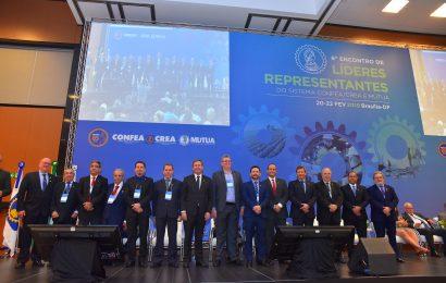 Comitiva do Crea-SE participa do 8º Encontro de Líderes do Sistema Confea/Crea/Mútua
