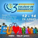 Presidentes do Sistema Confea/Crea/Mútua se reúnem em Aracaju para alinhar ações de interesse da Engenharia, Agronomia e Geociências