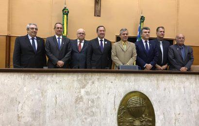 Na Assembleia Legislativa de Sergipe, Joel defende diálogo e retomada do desenvolvimento do país