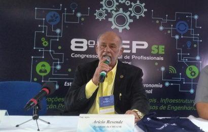 Arício Resende defende união de profissionais diante de ataques sofridos pelo Sistema Confea/Crea no Congresso Nacional