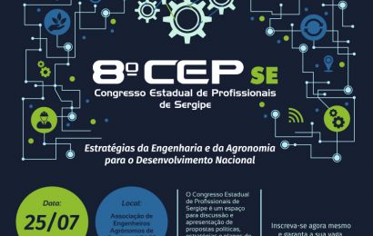 Congresso Estadual de Profissionais (CEP-SE) será realizado nesta quinta-feira