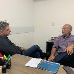 Projetos de interesse da Engenharia e da Agronomia pautam reunião do Crea-SE com senador Rogério Carvalho