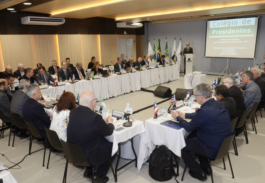 Colégio de Presidentes: PEC 108 em discussão no primeiro dia de reunião