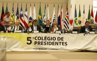 CP Foz do Iguaçu: Presidente Arício Resende reforça importância da parceria entre Confea e a OEP