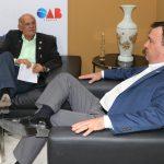 Crea-SE define ações junto a OAB-SE contra PEC 108 e pelo fortalecimento  dos Conselhos Profissionais