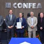 Conselheiro Federal, por Sergipe, toma posse no Conselho Diretor do Confea
