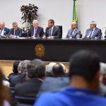 Comitiva do Crea-SE participa de ação parlamentar na Câmara dos Deputados