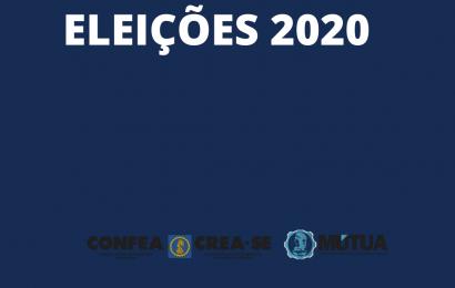 Crea-SE  reforça medidas preventivas ao COVID-19 para a eleição de 15 de julho