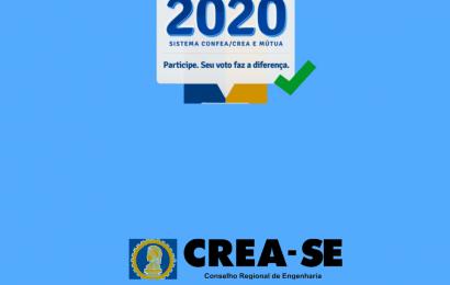 Eleições do Sistema Confea/Crea confirmadas para 15 de julho