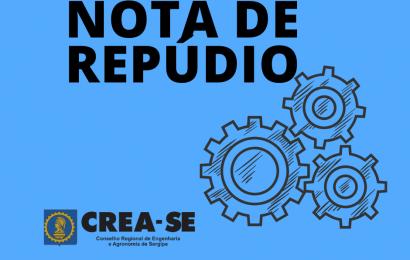 Crea-SE manifesta repúdio à Resolução 102/2020