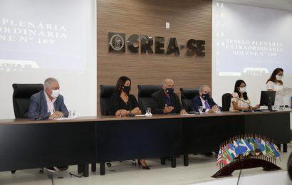 Crea-SE realiza última Sessão Plenária de 2020 com posse e anúncio de novos investimentos