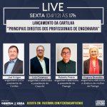 Fisenge lançará cartilha sobre direitos dos profissionais da engenharia