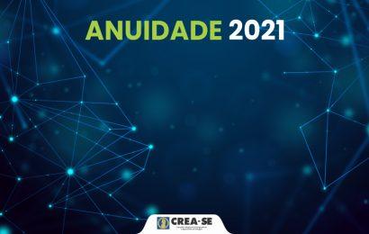 Crea-SE mantém valores da anuidade 2021 sem reajuste